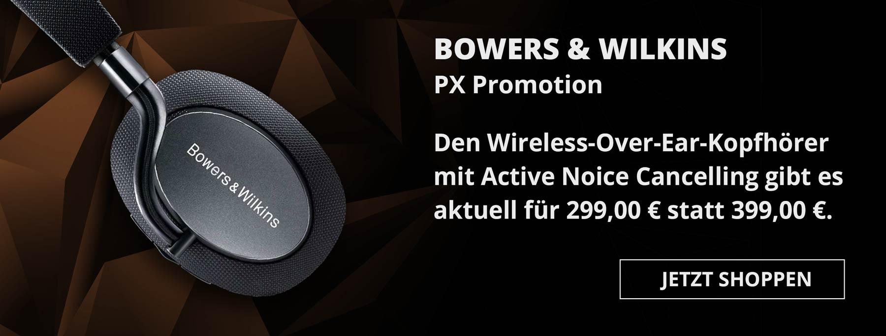 Aktion: Bowers & Wilkins PX (Angebot)