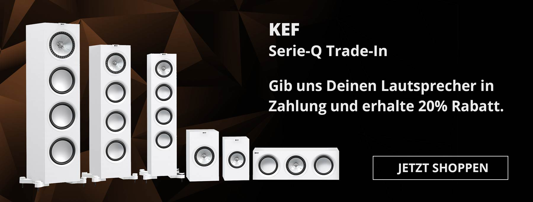 Aktion: KEF Serie-Q Trade-In (Angebot)
