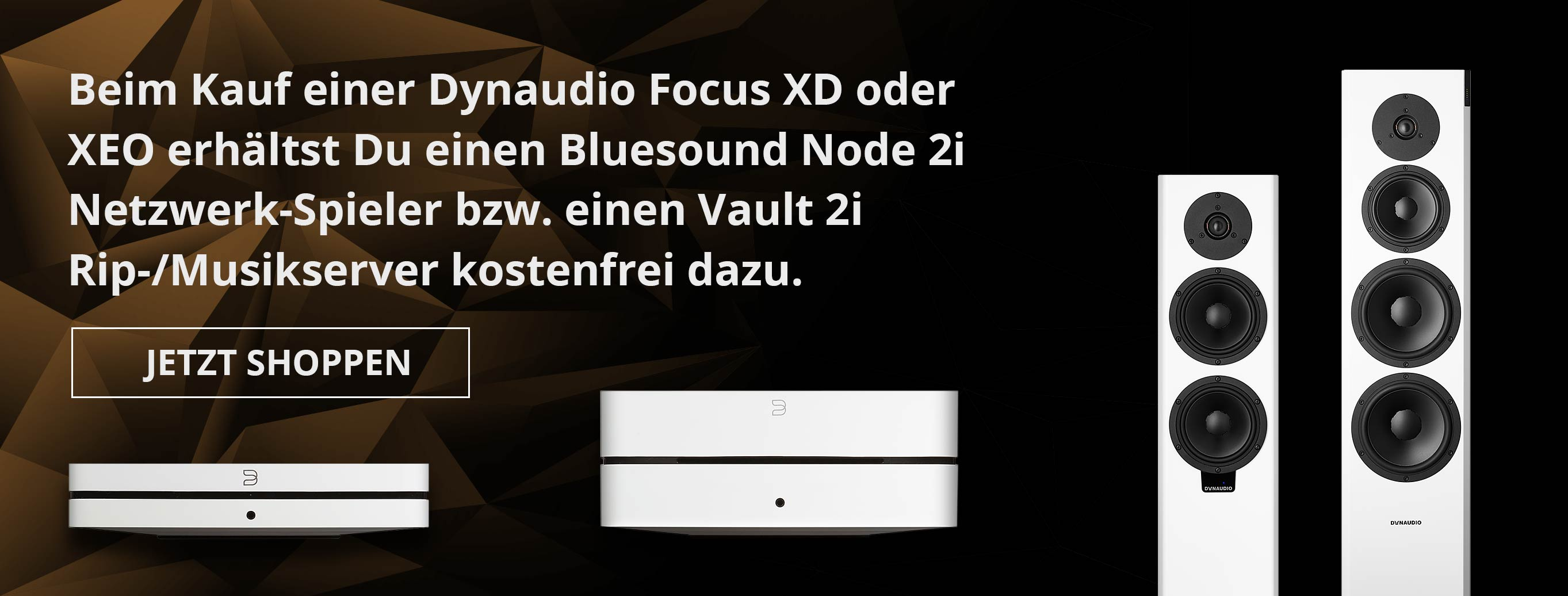 Dynaudio & Bluesound (Aktionsseite)